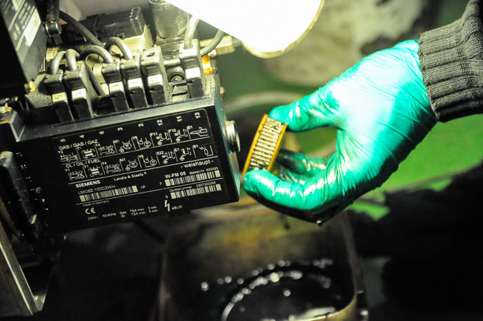 Nettoyage du filtre à fioul
