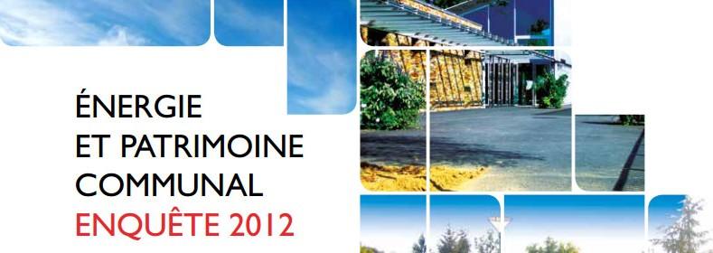 Enquête Energie et Patrimoine Communal 2012 de l'ADEME