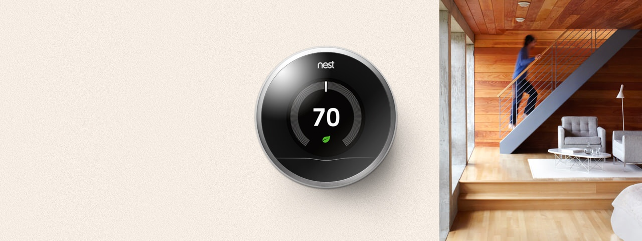 Nest le thermostat intelligent arrive bient t en france fioulreduc - Thermostat connecte nest ...