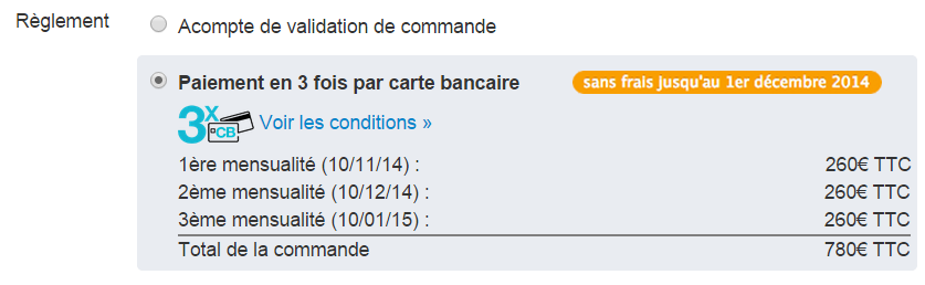 En novembre le paiement de votre fioul en 3 fois est gratuit fioulreduc - Paiement en 3 fois carte bancaire ...