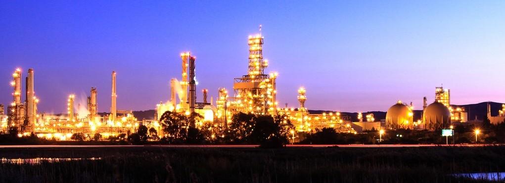 Raffinerie de pétrole