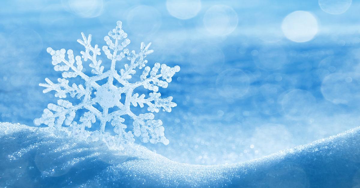 illustration d'un flocon de neige