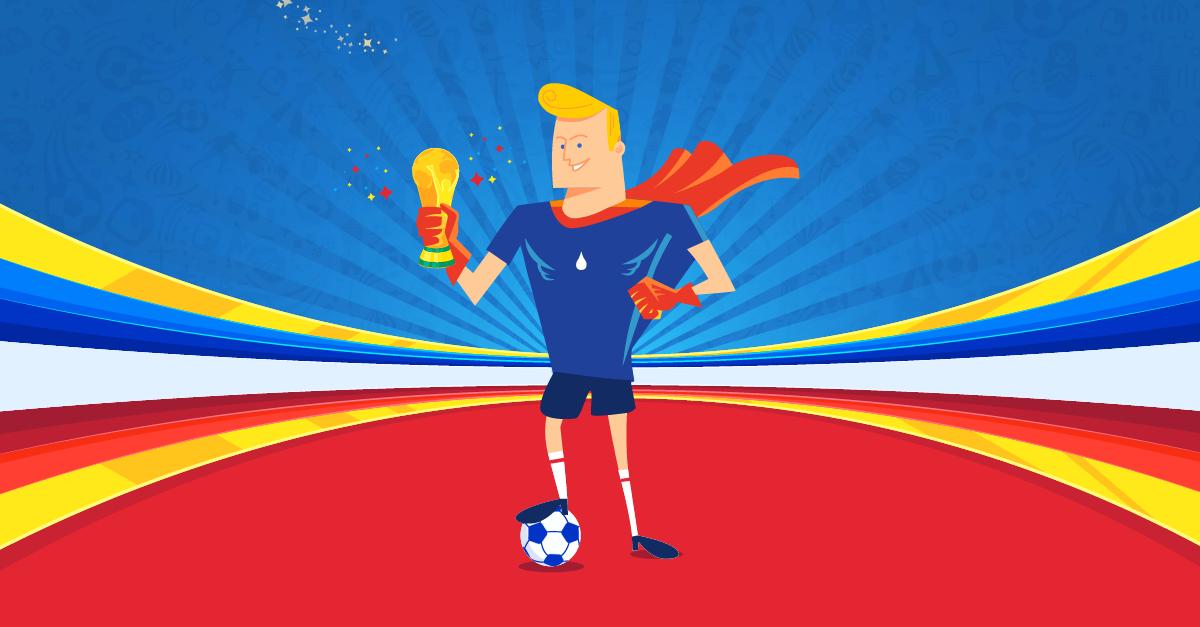 Concours coupe du monde 2018 gagnez 100 euros sur votre - Prochaine coupe du monde de foot 2018 ...