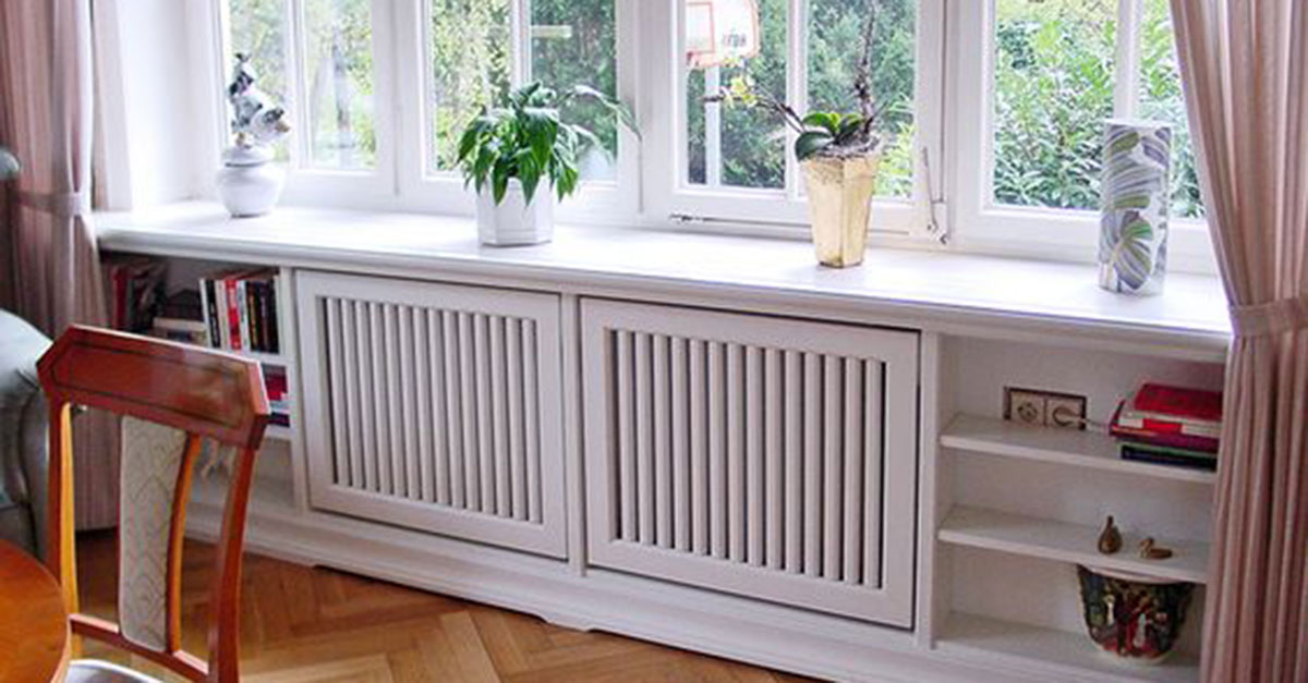 5 astuces pour masquer ou int grer ses radiateurs sa d coration d 39 int rieure fioulreduc. Black Bedroom Furniture Sets. Home Design Ideas