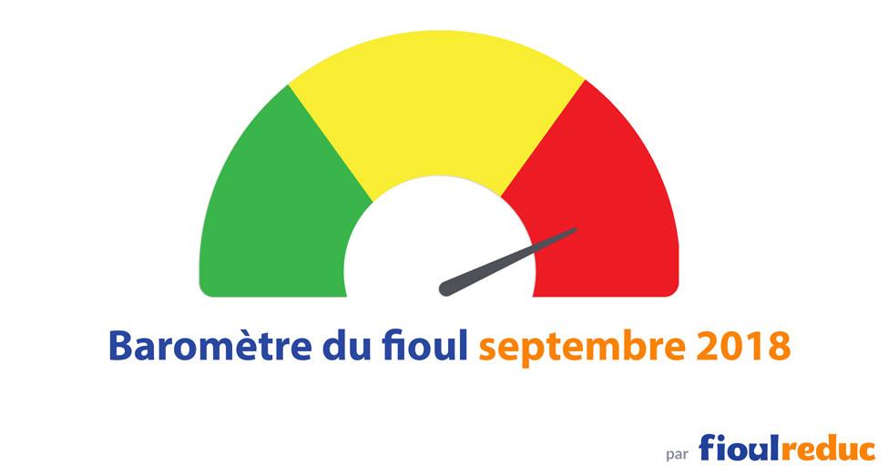 header baromètre prix du fioul septembre 2018