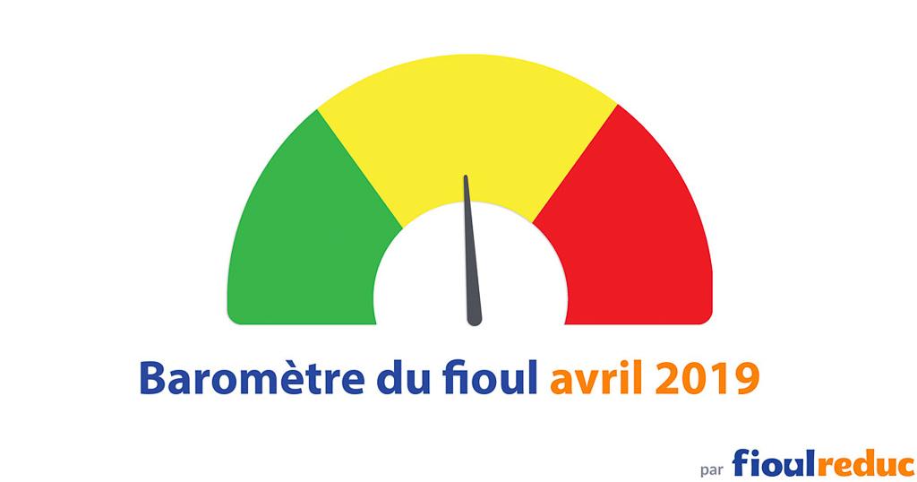 header baromètre prix du fioul FioulReduc avril 2019