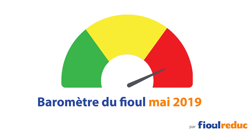 header baromètre mensuel prix du fioul FioulReduc mai 2019