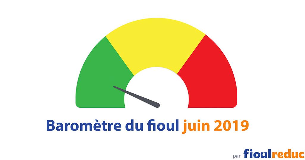 header baromètre mensuel prix du fioul FioulReduc juin 2019