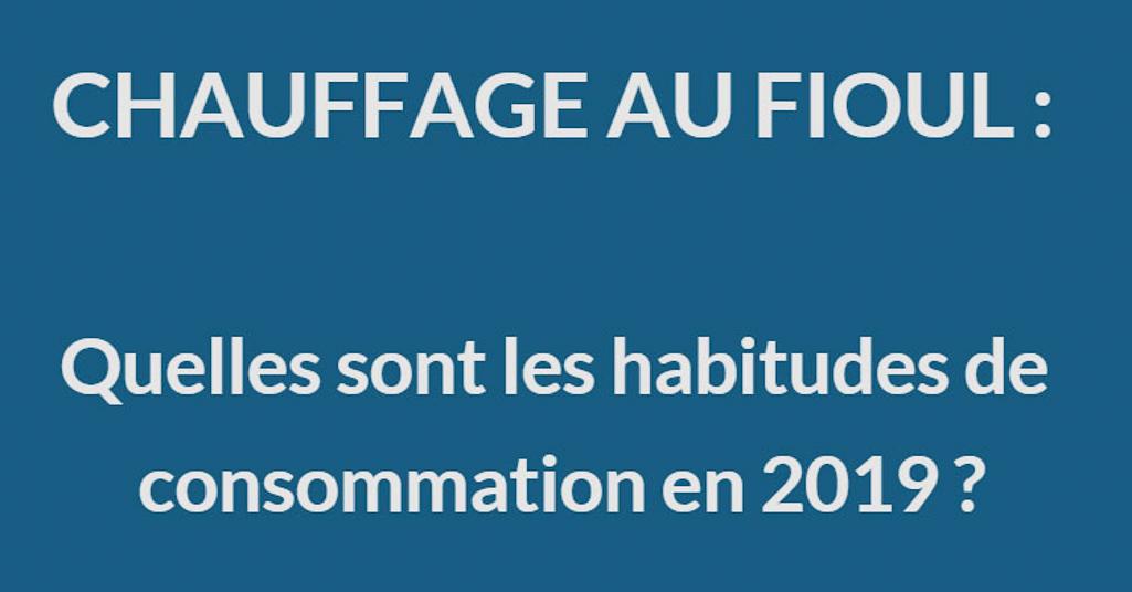 infographie bilan de consommation de fioul 2019 FioulReduc header