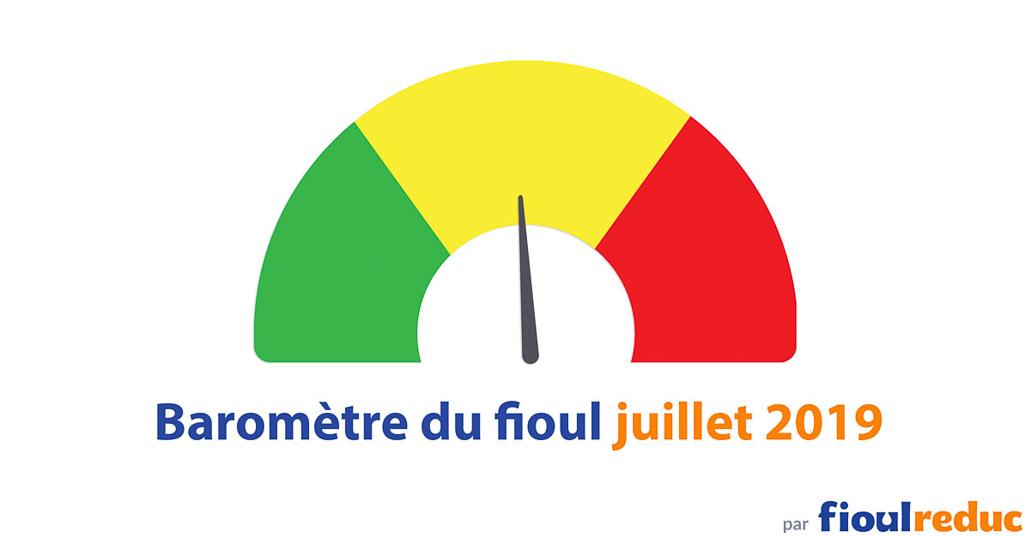 header baromètre mensuel prix du fioul FioulReduc juillet 2019