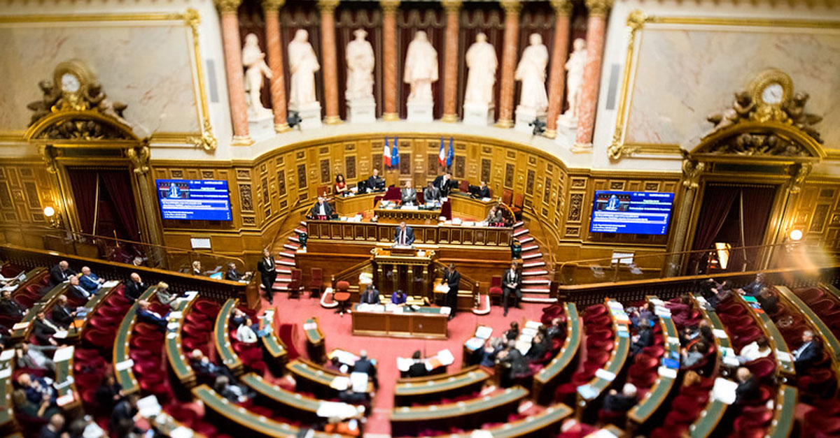 hemicycle du Sénat