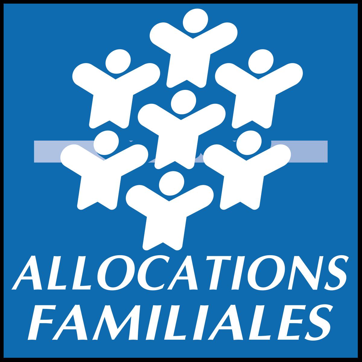 logo caf allocations familiales