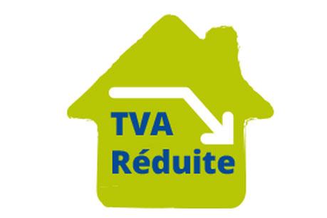 logo TVA à taux réduit