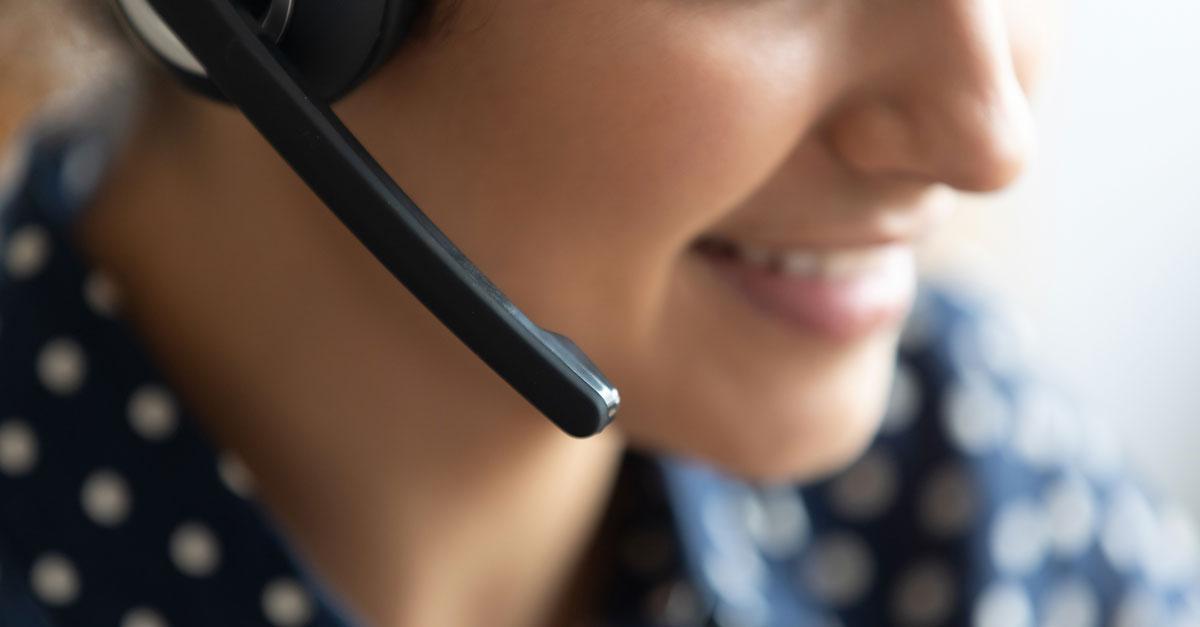 Service client à l'écoute